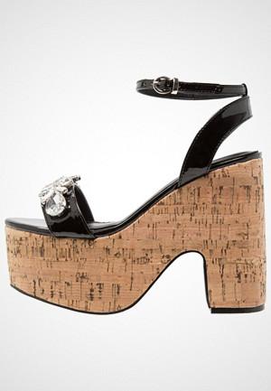 BEBO sandaler, BRIDLEY Sandaler med høye hæler black