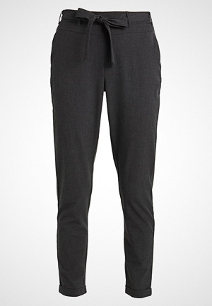 Kaffe JILLIAN BELT PANT Bukser dark grey melange