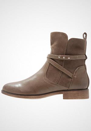 Anna Field støvler, Støvletter taupe