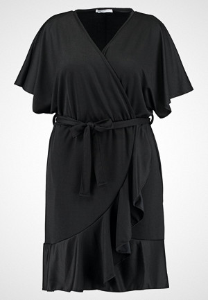 Glamorous Curve kjole, WRAP Jerseykjole black