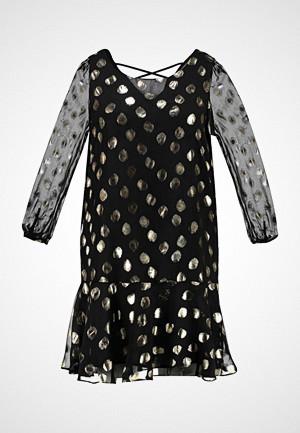 Glamorous Curve kjole, SPOT LONG SLEEVE DRESS Cocktailkjole black
