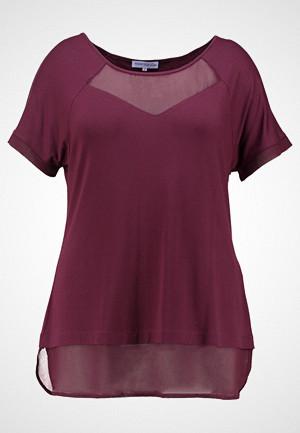 Anna Field Curvy T-skjorte, Tshirts med print bordeaux