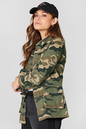 NA-KD jakke, Army Jacket grön