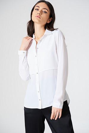 Rut&Circle skjorte, Penny Shirt vit