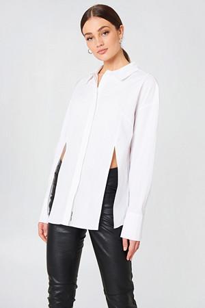 Cheap Monday skjorte, Seize Poplin Shirt vit