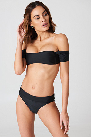 Boohoo bikini, Salamanca Bardot Bandeau Bikini Set - Bikini
