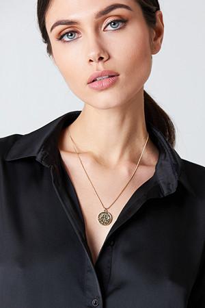 NA-KD Accessories smykke, Zodiac Sagittarius Necklace guld