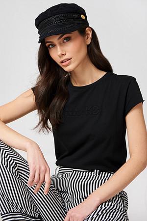 NA-KD T-skjorte, NA-KD Stitch Tee