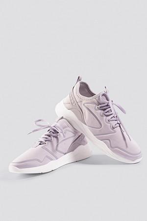 Mango sneakers, Appliqué Lightweight Sole Sneakers