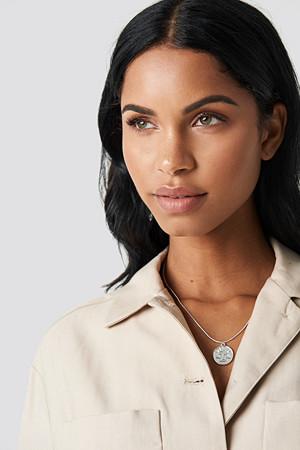 NA-KD Accessories smykke, Zodiac Libra Necklace silver