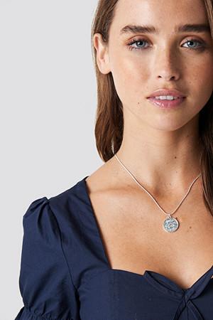 NA-KD Accessories smykke, Zodiac Virgo Necklace silver