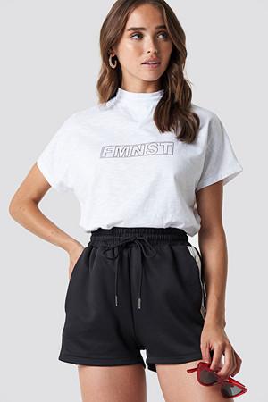 NA-KD Trend T-skjorte, Fmnst Cap Sleeve Top